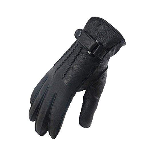 (Neue Damen Lange Fingerlose Handschuhe Blumen Wärmen Parteien Arm Und Herbst Sets Winter Unikat Style Blue Fäustlinge (Color : Schwarz, Size : M))