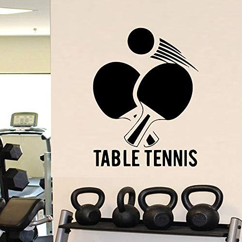 TYLPK Gym Quote Wandaufkleber Vinyl Wasserdichte Dekoration Zubehör Removable Home Party Decor Tapete Gelb M 43 cm X 56 cm