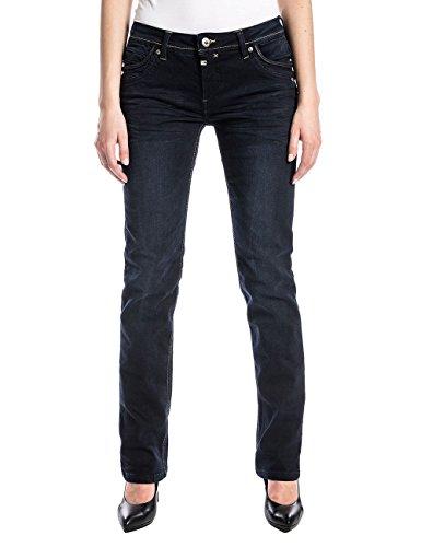 Timezone Damen TahilaTZ Straight Jeans, Blau (Noble Blue Wash 3787), W30/L32 (Herstellergröße: 30/32)