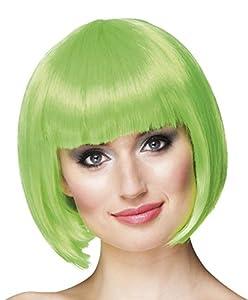 Boland - Peluca de Cabaret - Modelo tipo casquete One Size Verde