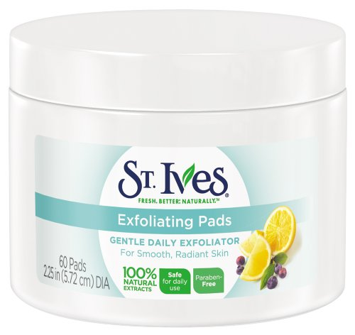 St Ives Face Care Pads, Exfoliating Pads 60 Count by St. Ives