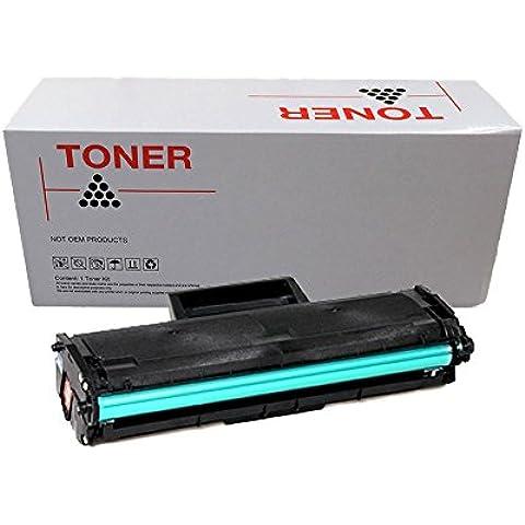 Doree MLT-D101S Negro cartucho de tóner láser compatible para Samsung ML-2160 ML-2165W ML-2168 SCX-3400 SCX-3405 SCX-3405FW SCX-3405W SF-760P SF-760