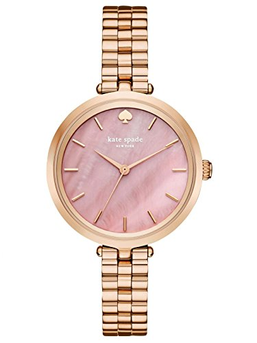 Kate Spade KSW1158 Ladies Holland Rose Gold Steel Bracelet Watch