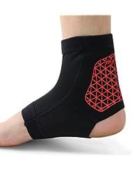 xintown Bandage de cheville Pied de protection de soutien Tendon d'Achille Douleurs de protection Coussin avec bleu 3Taille 3Couleur