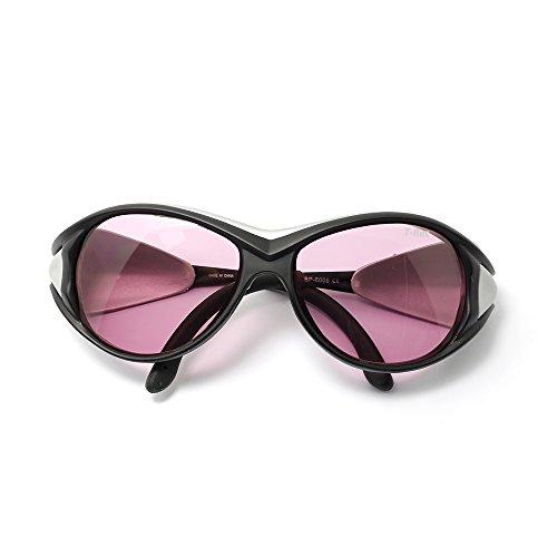 Gafas de protección & gafas de protección para 808nm IR (infrarrojos) láser de diodo con funda