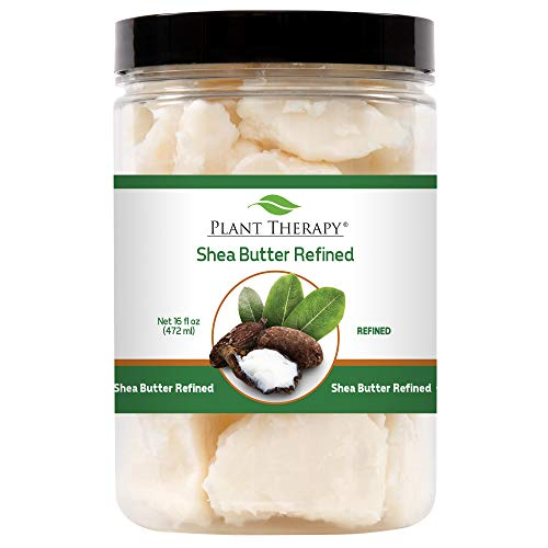 Plant Therapy Refined Shea Butter | For Body, Face & Hair | 100% Pure, Natural Moisturizer |16 Ounce Container - 100% Pure Moisturizing Balm