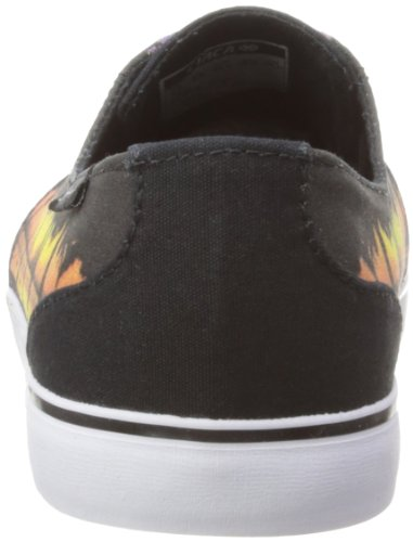 C1rca Crip, Sneakers Basses Adulte Mixte Negro (Schwarz (Black/Sunset))