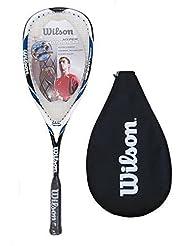 Wilson Hyper Hammer Carbon 120 Blue Squash Racket by Wilson
