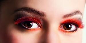 Boland BOL01602 - Pestañas autoadhesivas, color rojo