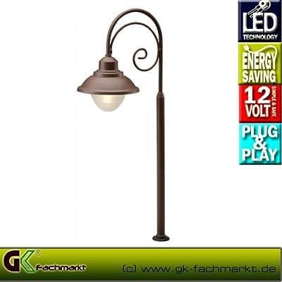 Lumos LED Standleuchte aus Aluminium von Garden Lights auf Lampenhans.de