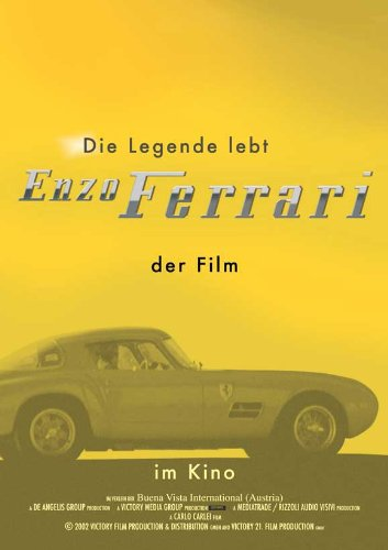 Ferrari Plakat Movie Poster (11 x 17 Inches - 28cm x 44cm) (2003) German (Ferrari Sammlerstücke)