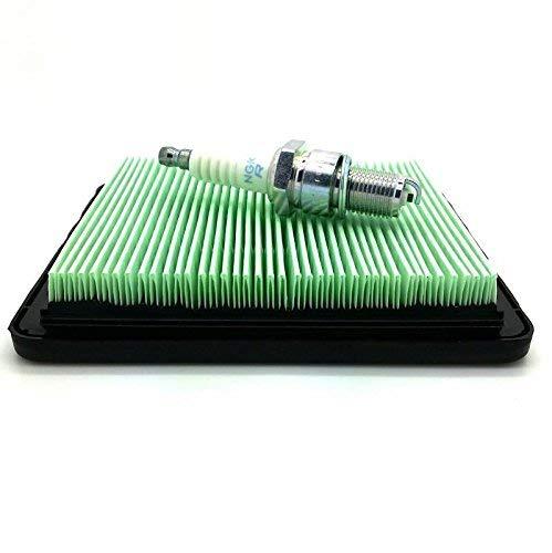 NGK Plug &Luftfilter Honda IZY Service Kit für Benzin Rasenmäher und HRG415 HRG465 kompatibel für Honda