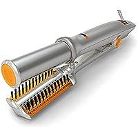 GFYWZ Rizador De Cabello Cerámica Control De Temperatura Plancha Giratoria Tenacillas Para Rizar Y Alisador De Cabello Rizador De Cabello 2 En 1