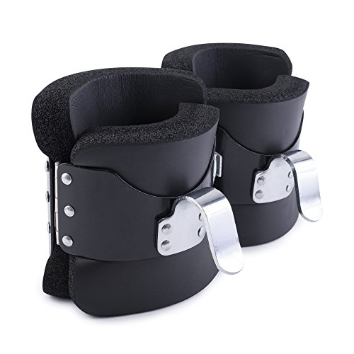 Valkyrie Anti Gravity Inversión Boots – For AB Crunch, Abdominal Sit Up, Hooks Bar Therapy, Core Gym Fitness Exerciser