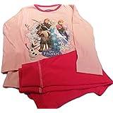 Disney Frozen pijama rosa con Olaf Sven, Anna, Elsa