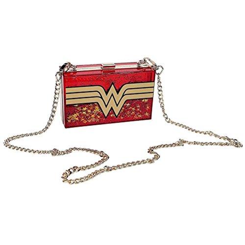 ndtasche rot/gold (Wonder Woman Dekorationen)