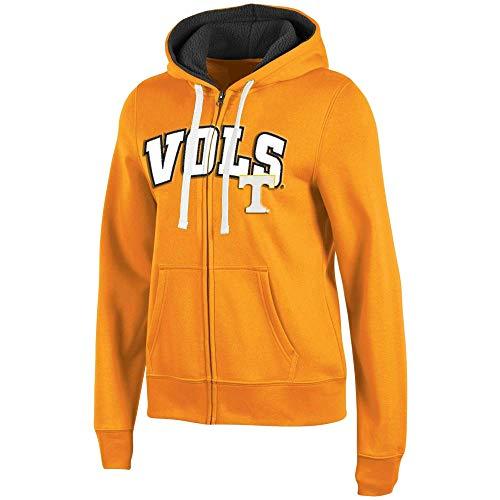 Pro Edge Damen Tennessee Volunteers Zip Sweatshirt Hoodie, Damen, Volunteers Orange, Small Edge Pullover Hoodie
