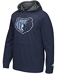 "Memphis Grizzlies Adidas 2016 NBA ""Playbook"" Men's Hooded SweatShirt Chemise"