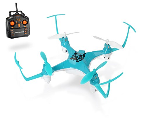 Dickie Toys 201119435 - RC DT-BFQ Backflip Quadrocopter, funkferngesteuerter Quadrokopter, 17 cm