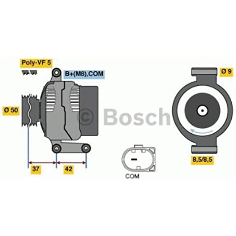 Bosch 0986080040 ALTERNATORE ME Classe A-B '05>