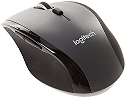 Logitech M705 Wireless Mouse For Windows, Mac, Chrome For Laptop & Computer - Black