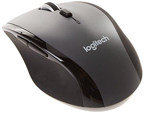 Logitech M705 - Ratón láser inalámbrico, Negro [EL MEJOR]