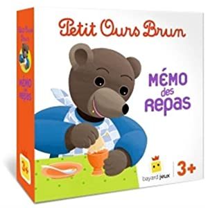 Jeu Petit Ours Brun - Mémo des repas (Jeux et jouets Petit Ours Brun)