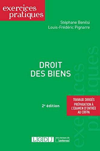 Droit des biens par Louis-frederic Pignarre