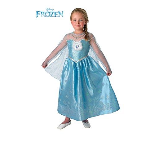 Frozen-Elsa Deluxe Kostüm Kinder, L (Rubie 's Spain - Disney Elsa Deluxe Kostüm