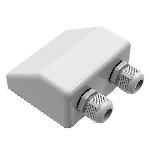 Giaride impermeable entrada de cable de la glándula, su mejor opción.   Puede ser ampliamente utilizado para paneles solares, instalar en autocaravanas, autocaravanas, caravanas, barcos, yates, RV, energía DC, antena, satélite, aire acondicionado, i...