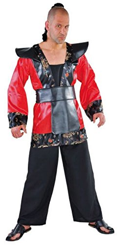 Chinese Japaner Asiat Kampfsport Karate Kostüm Übergröße XXL 60/62 BIG SIZE