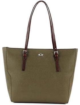 LA MARTINA Estrella Shopping Bag Olive Green