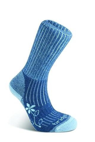 Bridgedale Merinofusion Trekker Women's Sock - Blue, 5-6.5