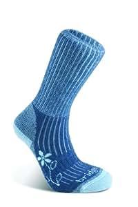 Bridgedale Merinofusion Trekker Women's Sock - Blue, 3-4.5