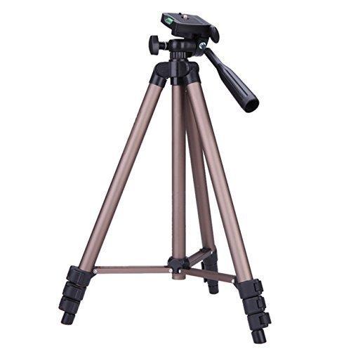 Maxsimafoto ®-Stativ, 1.280 mm (127 cm / 50 Zoll) Tragbares Stativ für Digitalkameras, für Fujifilm FinePix S4000 verschiedene Kamera-Modelle geeignet, S2950, S2800, S2750, S3400 S1900 S2500 / HS10 HS20 / HS50 EXR / HS25 / HS30 / HS33.