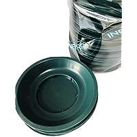 Preisvergleich für INERRA Pop Schüsseln - grün Rund Kunststoff Florist Dishes für Schaum Zylinder - Grün, Pack of 25