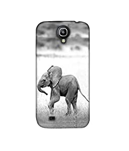 Casotec Elephant 3D Printed Hard Back Case Cover for Samsung Galaxy S4 GT i9500