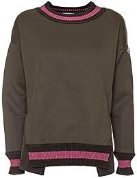 MONCLER Femme 8060280932825 Vert Polyester Sweatshirt 47771566dcf