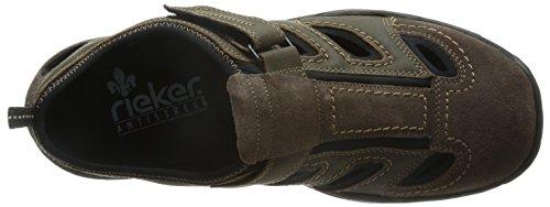 Rieker Rene, Sneakers homme Marron (cigar/tabak/schwarz / 27)