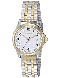 M-WATCH Timeless Elegance Analog White Dial Women's Watch-WRE.60210.SU