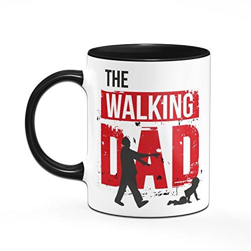THE WALKING DAD Tasse - Kaffetasse - Geschenke für Papa - schwarz/rot - 2