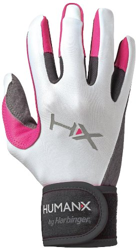 harbinger-x3-competition-full-finger-womens-training-guantes-l