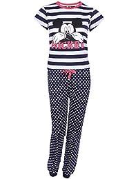 Pijama Azul Marino a Lunares, Mickey Mouse Disney