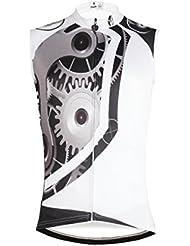 camiseta de la bici chaleco sin mangas de la camisa del jersey de ciclismo bicicleta nuevos hombres del estilo - maquinaria