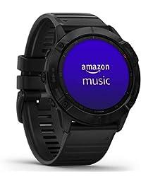 """Garmin fenix 6X PRO - GPS-Multisport-Smartwatch mit Sport-Apps, 1,4"""" Display und Herzfrequenzmessung am Handgelenk. Musikplayer, Karten, WLAN und Garmin Pay. Wasserdicht bis 10 ATM, bis 21 Tage Akku"""