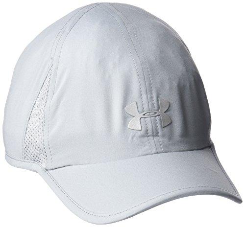 Under Armour Damen Shadow Cap 2.0 Kappe, Steel, OSFA Low-profile-mesh-hüte