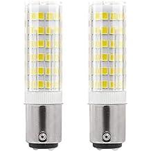 1819 ® BA15D LED bombillas 5W Blanco Frío 6000K Bulb equivalentes a Lámparas halógenas de 40W