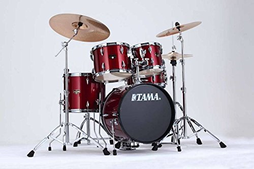 TAMA IP58H6-CPM - KIT IMPERIALSTAR JAZZ 18 5 SHELLS WITH HARDWARE - CANDY APPLE MIST Drumsets Jazz drumkit