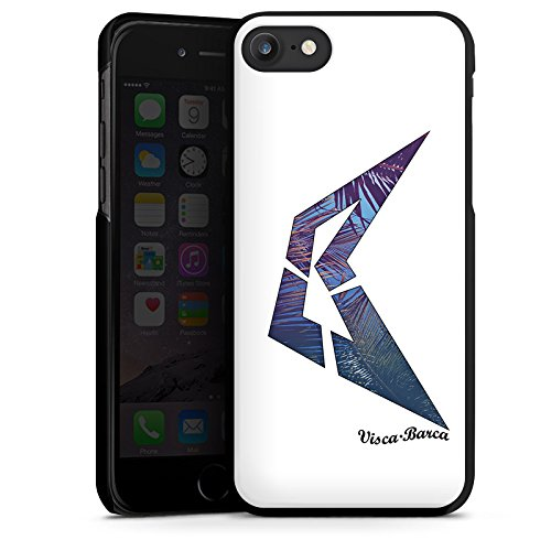 Apple iPhone X Silikon Hülle Case Schutzhülle Visca Barca Fanartikel Merchandise Visca98Barca Youtuber Hard Case schwarz