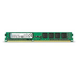 Kingston Technology KVR16N11S8/4 RAM 4 GB 1600 MHz DDR3 Non-ECC CL11 DIMM 240-Pin, 1.5 V Memory Module